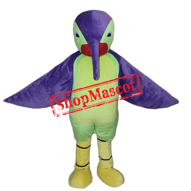Colorful Roadrunner Mascot Costume
