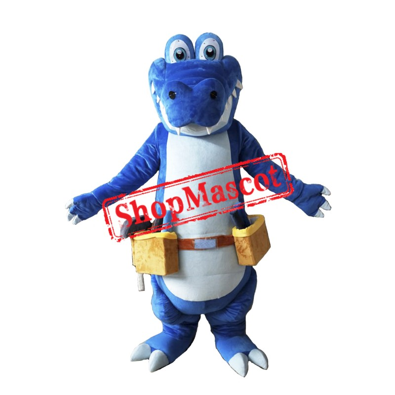 Worker Crocodile Mascot Costume