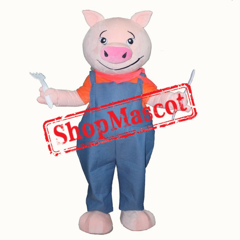 Cheap Pig Mascot Costume