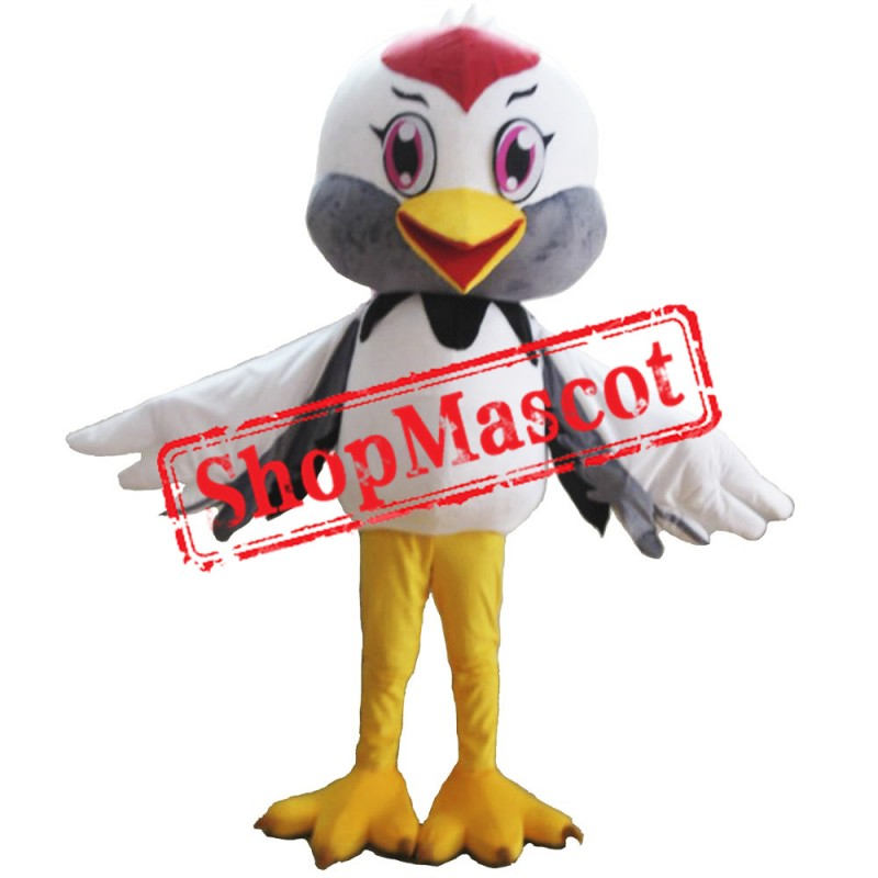 Cheap Crane Mascot Costume