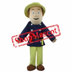 Cheap Fireman Sam Mascot Costume