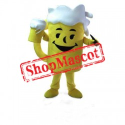 Happy Lightweight Beer Cup Mascot Costume