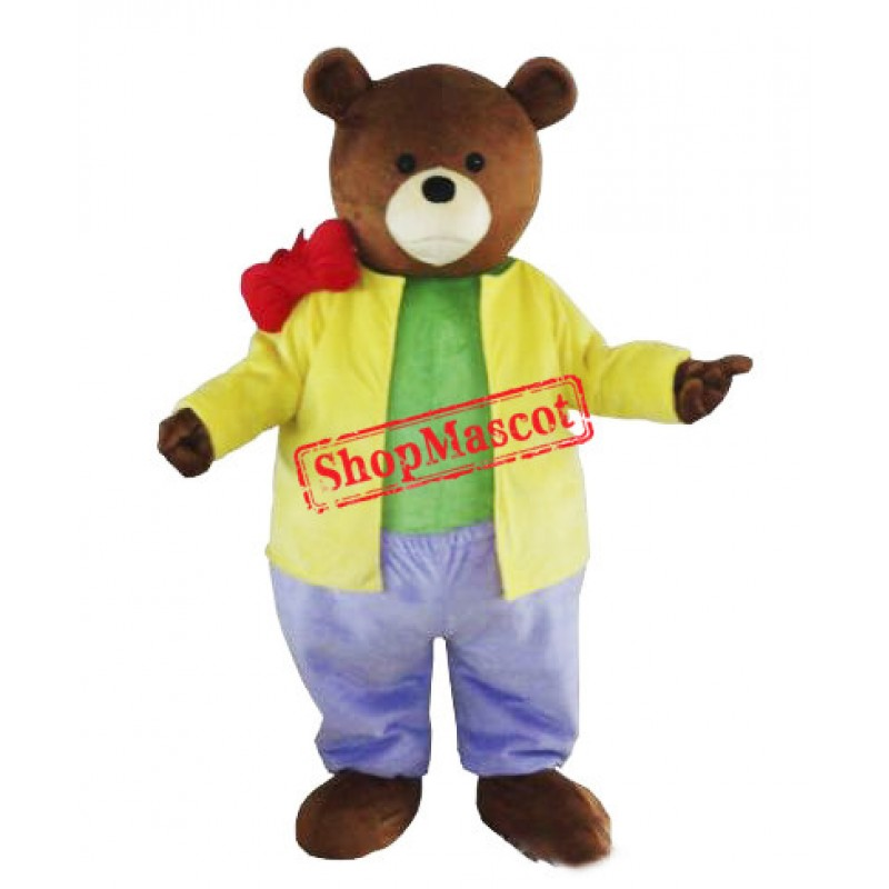 Cheap Brown Bear Mascot Costume