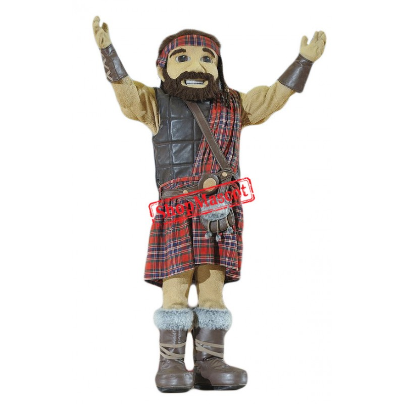 Top Quality Highlander Mascot Costume