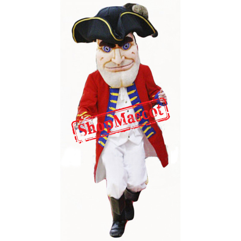 High Quality Lightweight Patriot Mascot Costume