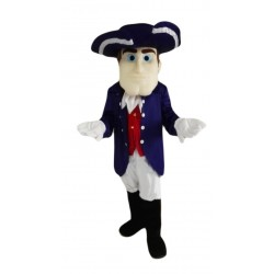 The Friendly Patriot Mascot Costume