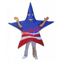 American Patriot Star Mascot Costume