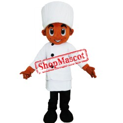 Young Chef Man Mascot Costume