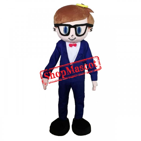 Handsome Boy Mascot Costume Free Shipping