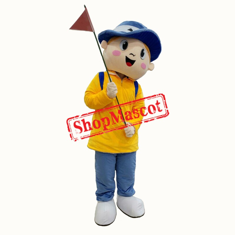 Tour Guide Mascot Costume