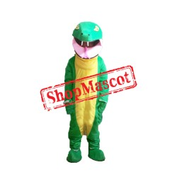 Cheap Green Snake Mascot Costume
