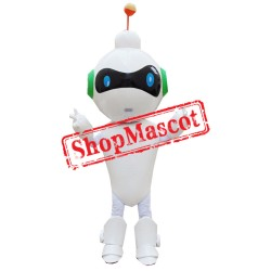 Cute Lightweight Robot Mascot Costume