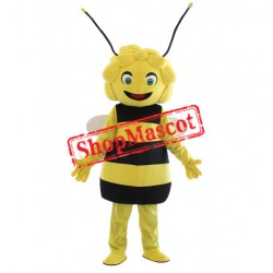Happy Lightweight Girl Bee Mascot Costume