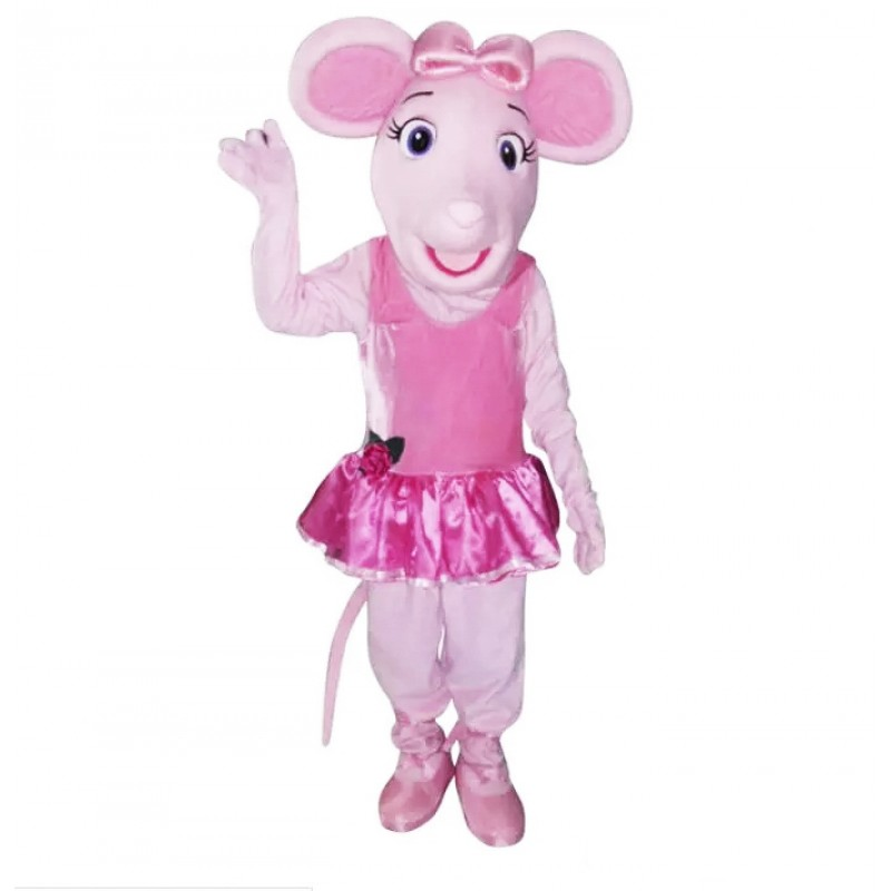 Princess Pig Mascot Costumes Cartoon Character Mascot Costume