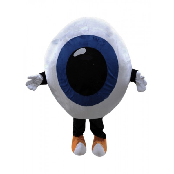 Eyeball Mascot Costume for Bussiness or Charity Event Free Shipping