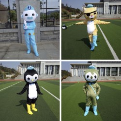 The Octonauts Barnacles Kwazii Peso Shellington Mascot Costumes