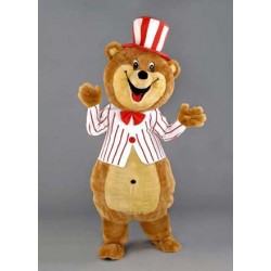 Happy Bear Costume Mascot