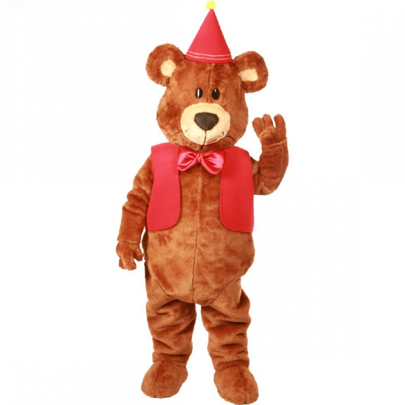 Teddy Graham Mascot Costume