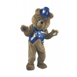 Dancing Bear Mascot Costume