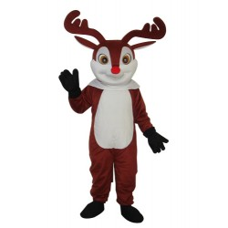Little Brown Sika Deer Mascot Adult Costume Free Shipping
