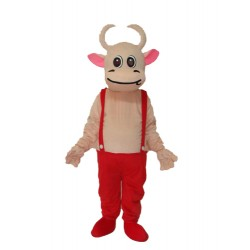 No.3 Cow Mascot Adult Costume Free Shipping