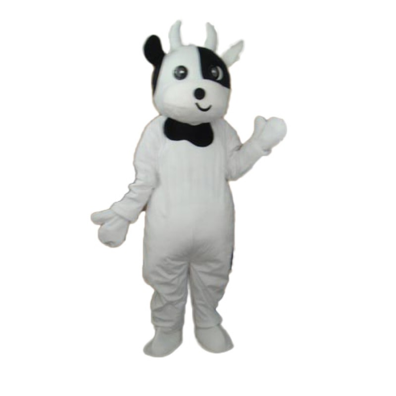 Odd Face Cow Mascot Adult Costume Free Shipping