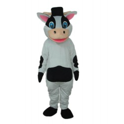 Strange Cow Mascot Adult Costume Free Shipping