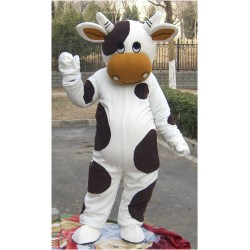 Cattle Black & White Mascot Costume Free Shipping