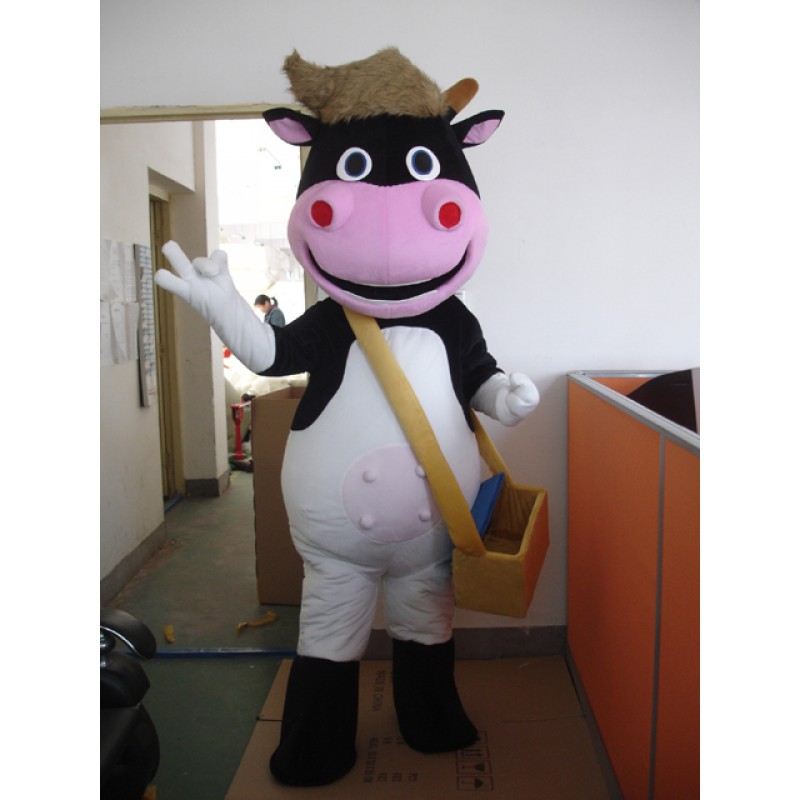 Cattle Big Mascot Costume Free Shipping