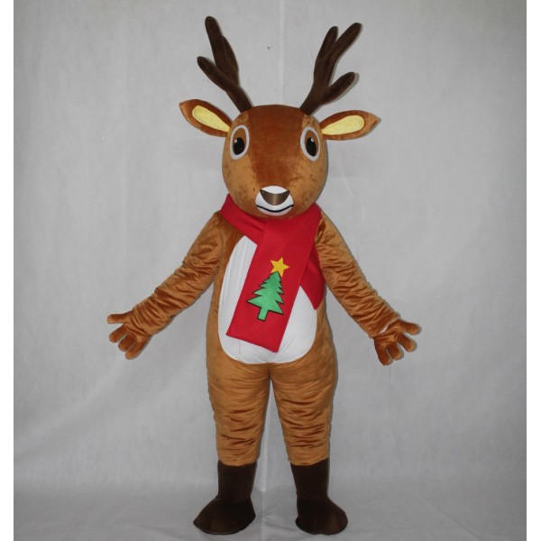 Adult Animal Costume Deer Mascot Costume Free Shipping