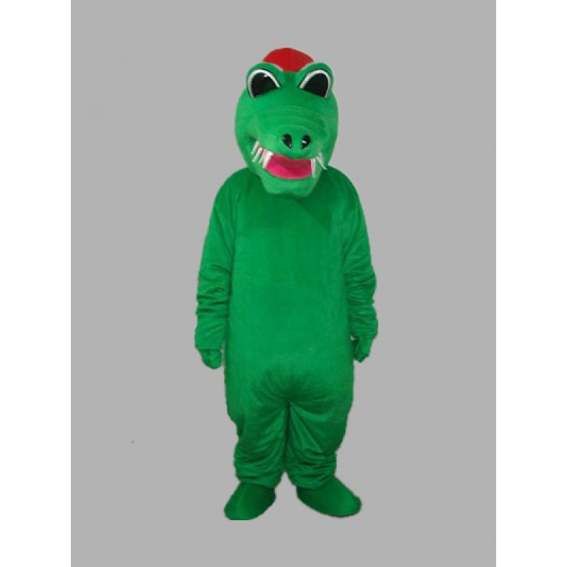 Africa Crocodile Adult Mascot Costume Free Shipping
