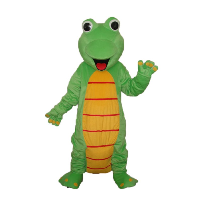 Happy Lizard Dinosaur Mascot Adult Costume Free Shipping