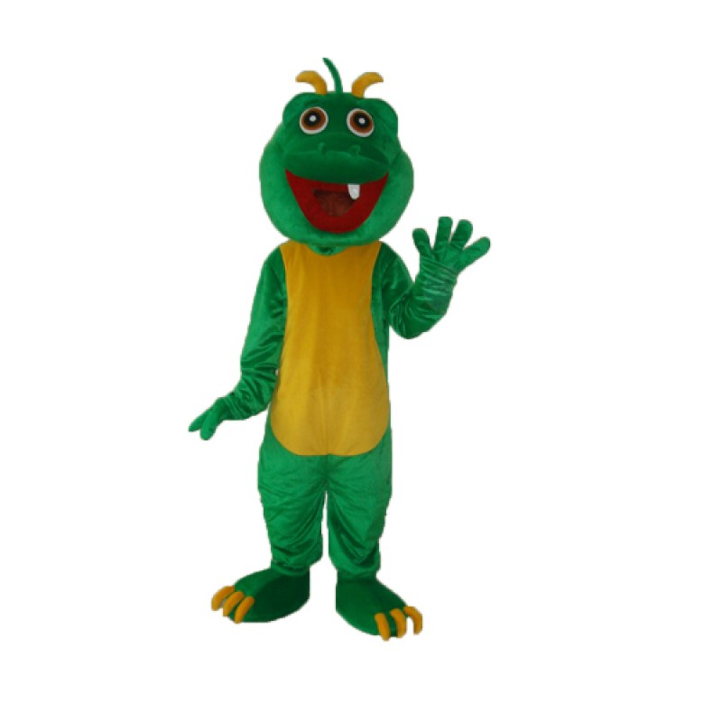 One Tooth Dinosaur Mascot Adult Costume Free Shipping