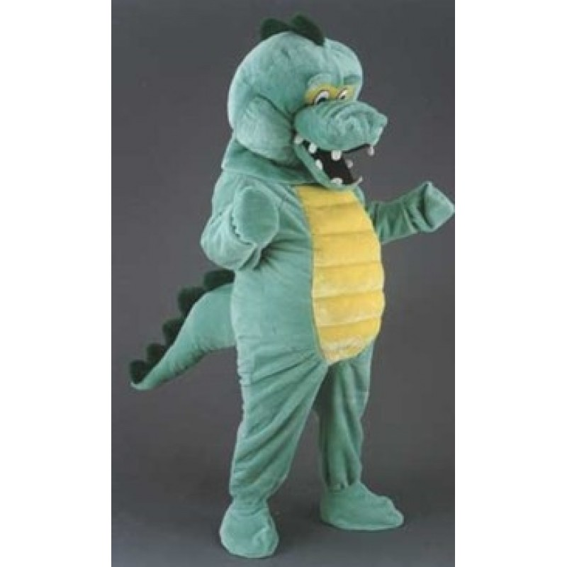 Crocodile Cuddly Mascot Costume Halloween Cosplay Dress Free Shipping