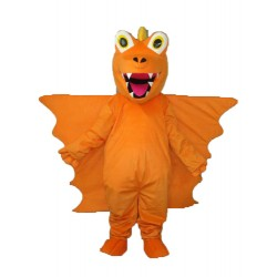 Revised Version Orange Long Thorn Dragon Mascot Adult Costume Free Shipping