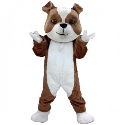 British Bulldog Lightweight Mascot Costume Free Shipping