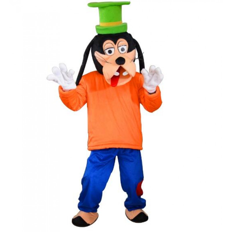 Goofy dog mascot costume cartoon Free Shipping