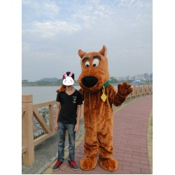 Scooby Doo Dog Mascot Costume Cartoon Free Shipping