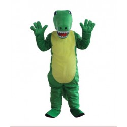 Crocodile Mascot Adult Costume Free Shipping