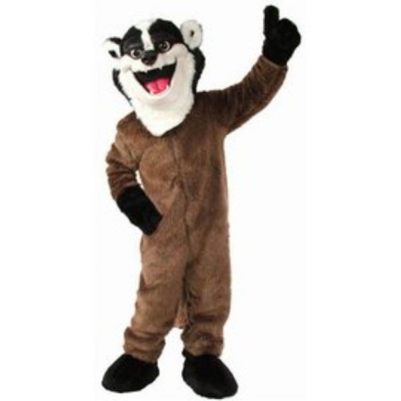 Badger Mascot Costume Free Shipping