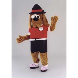 Coffee Dog Mascot Costume Free Shipping