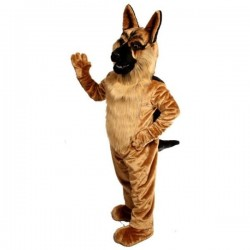 German Shepherd Mascot Costume Free Shipping