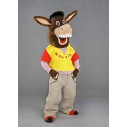 Martin the Donkey Mascot Costume Free Shipping