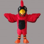 Red Eagle Mascot Costume Free Shipping