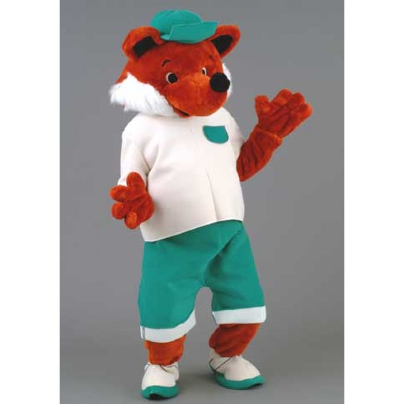 Cool Fox Costume Mascot Free Shipping