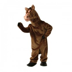 Fierce Stallion Mascot Costume Free Shipping