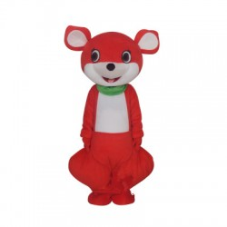 Red Kangaroo Mascot Costume Free Shipping