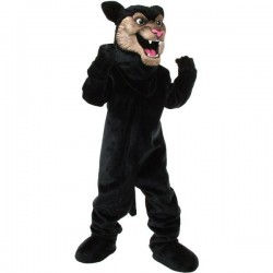 Panther Mascot Costume Free Shipping