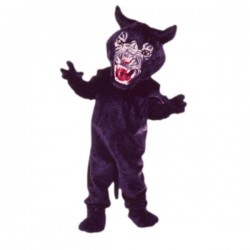 Super Panther Mascot Costume Free Shipping