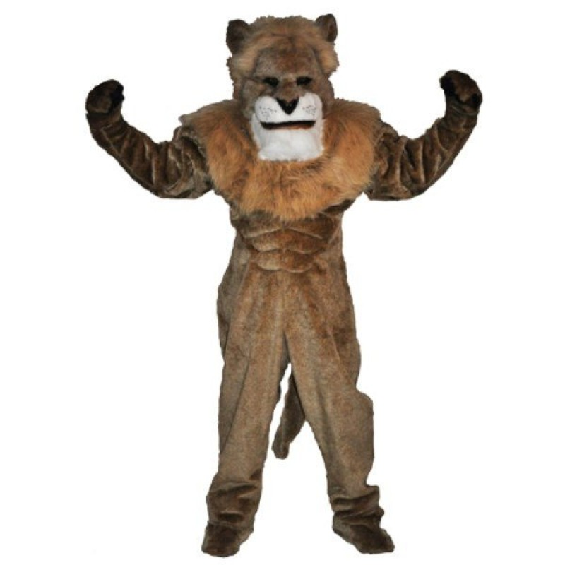 King Lion Mascot Costume Free Shipping